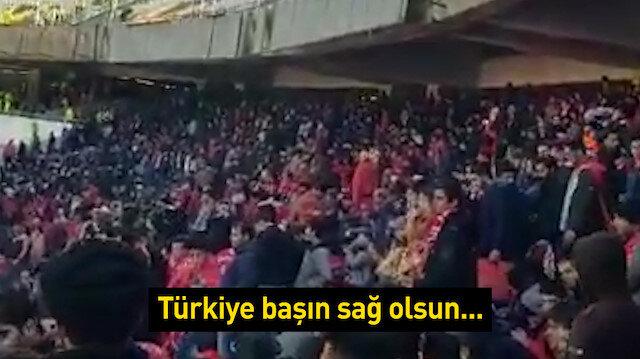 Traktör Sazi'den Türkiye'ye deprem mesajı
