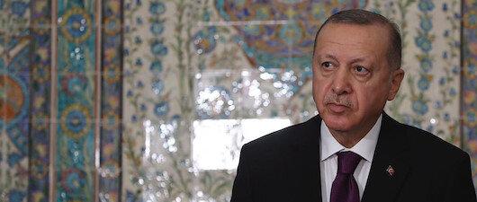 Cumhurbaşkanı Erdoğan, Cezayir'de konuşuyor