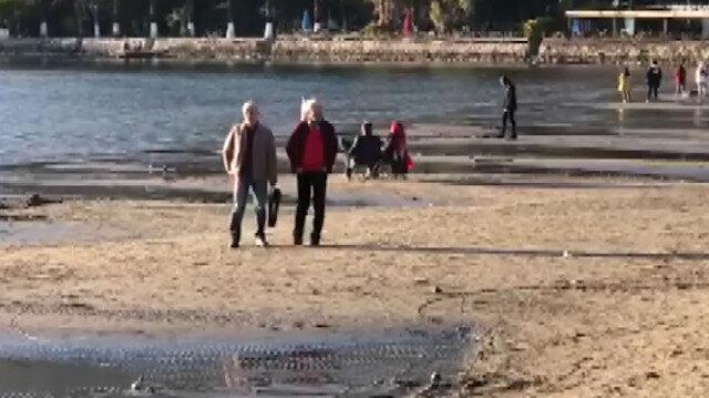 Muğla'da neler oluyor? Deniz suyu 50 metre çekildi