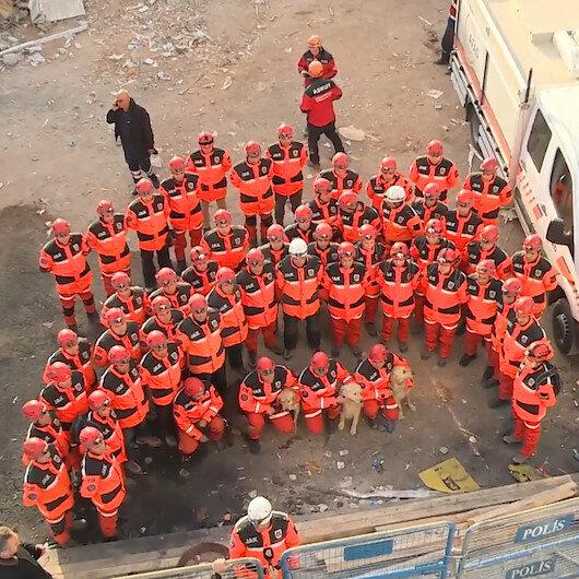 Arama kurtarma ekipleri Elazığa veda etti