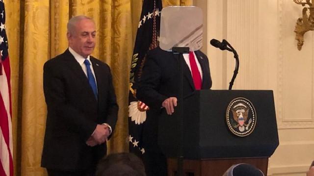 Trump Filistin'i parçalama planı'nı açıkladı