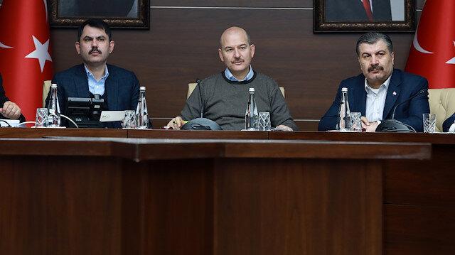 İçişleri Bakanı Süleyman Soylu: Eski eşyalarını göndermemenizi rica ediyorum