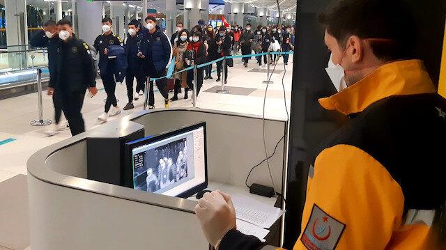 İstanbul Havalimanı'nda koronavirüs önlemi iki katına çıktı