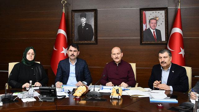 Bakan Soylu: Malatya'da bazı ilçelerde, Elazığ'da tüm okullar 10 Şubat'ta açılacak