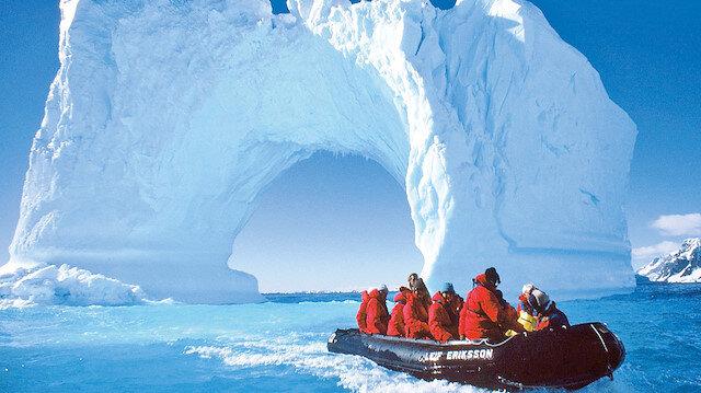 Antarktika'ya çıkarma yapacaklar