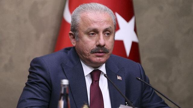 TBMM Başkanı Şentop: Yunan milletvekilinin Türk bayrağına yönelik sergilediği saygısızlığı kınıyoruz