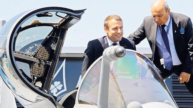 Macron'un kirli hesabı