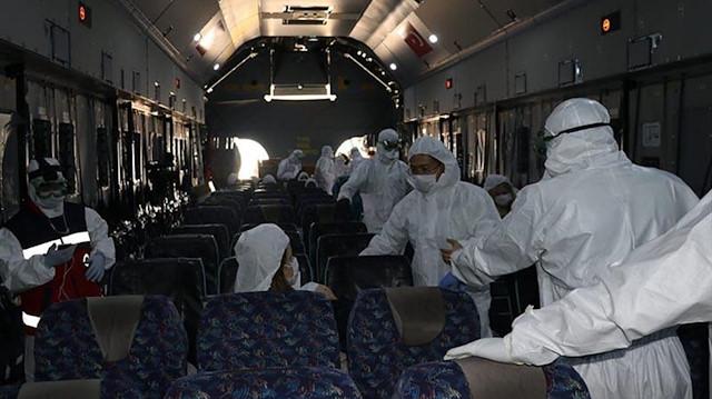 Çin'den getirilen Türklerin karantina altında tutulacakları hastane belli oldu