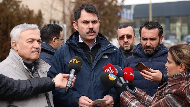 Çevre ve Şehircilik Bakanı Murat Kurum: Köklü bir kentsel dönüşüm çalışması yapacağız