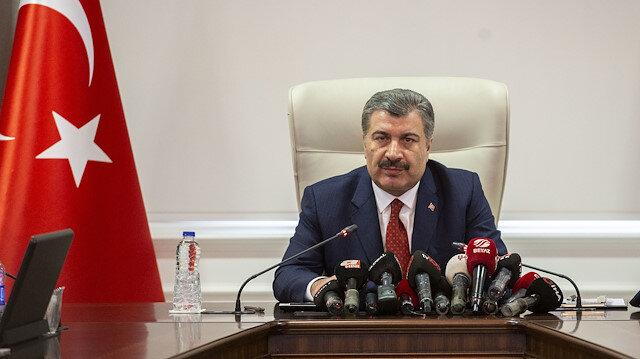 Sağlık Bakanı Fahrettin Koca: Virüsün ülkemize girişini engellemek için gayret gösteriyoruz