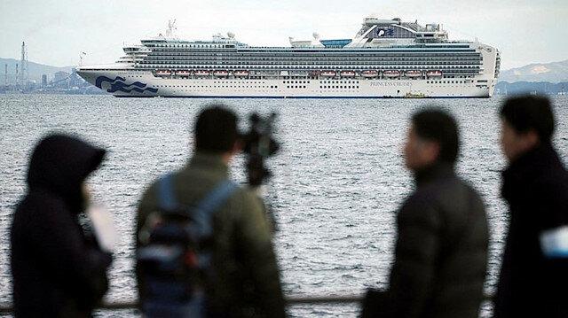 Yolcu gemisine koronavirüs karantinası