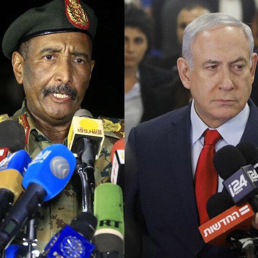 Sudanda darbenin yolu İsraile çıktı
