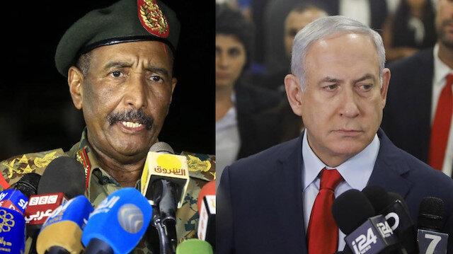 Sudan'da darbenin yolu İsrail'e çıktı