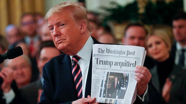 'Aklanan' Trump'tan ilk açıklama: Bu şeytani bir süreçti