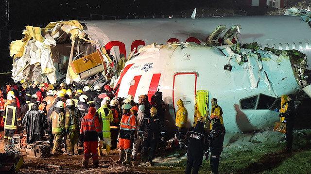 Sabiha Gökçen'deki uçak kazasında 3 kişi hayatını kaybetti