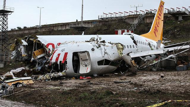 Pistten çıkan uçakta hayatını kaybedenlerin kimlikleri belirlendi