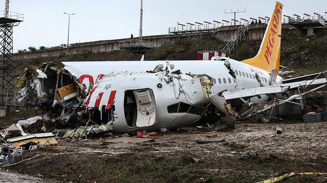 Sabiha Gökçen Havalimanı'nda pistten çıkan uçak için ABD'den heyet geliyor