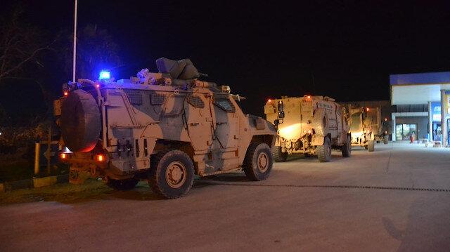 Suriye sınırında askeri hareketlilik: ZPT'ler, Hatay Reyhanlı'ya ulaştı