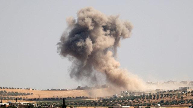 Rus uçakları Halep'te sivilleri vurdu: 2 ölü, 10 yaralı