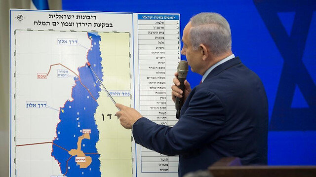 Netanyahu: Batı Şeria'dan parçaları eklemek üzere haritayı düzenlemeye başladık