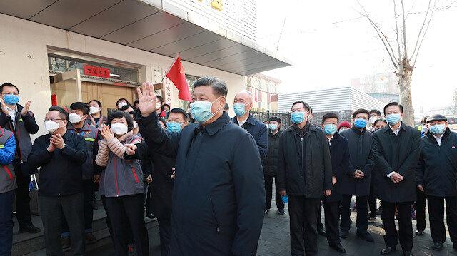 Şi Cinping virüs salgınından sonra ilk kez kameralar karşısında