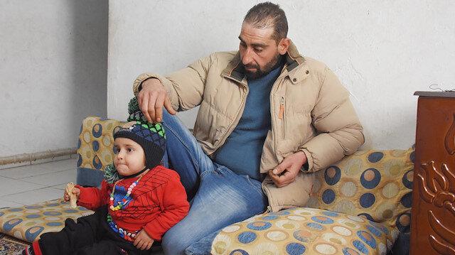 Eşi ve oğlu öldürülen Suriyeli Muhammed: O eve dönmeyeceğim