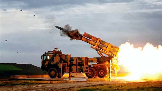 Esed rejimine ait 115 hedef vuruldu: 101 rejim unsuru etkisiz hale getirildi