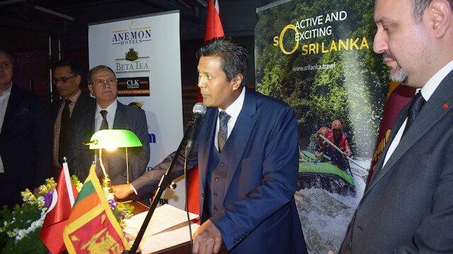 Sri Lanka Türkiye ile ekonomik ilişkileri geliştirmek için atakta