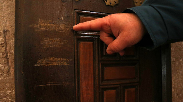 Selimiye Camii'nin tarihi kapılarına zarar verdiler: Onarılmak üzere götürüldü