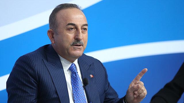 Çavuşoğlu: Rejimin garantörleri Rusya ve İran'ın rejimin saldırganlığını durdurmalı