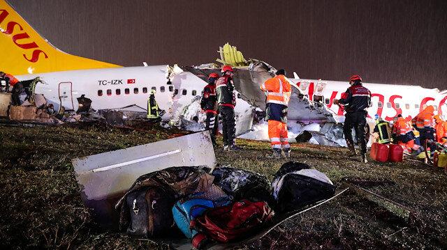 Sabiha Gökçen'deki kazadan önce pisti pas geçen pilotların ifadesi ortaya çıktı