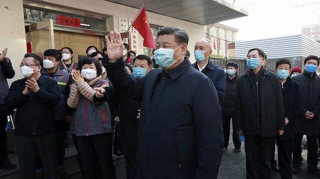 Çin Devlet Başkanı koronavirüs salgını sonrası ilk kez halkın karşısında