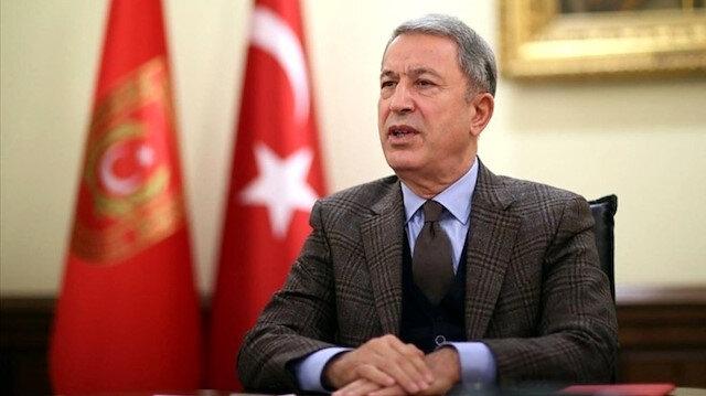 Bakan Akar'dan İdlib açıklaması: NATO, Avrupa ve dünyadan somut destek sağlanmalı