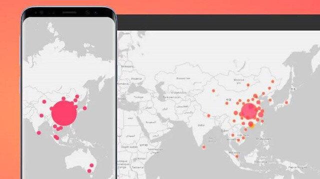 Koronavirüsü için Çin'de telefon uygulaması geliştirildi 😷📱