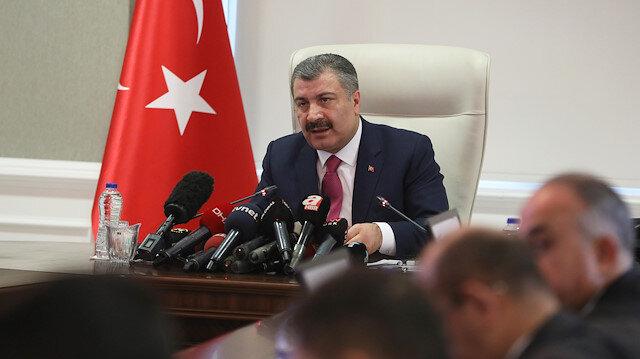 Sağlık Bakanı Koca: Koronavirüsü tespit etmek için ürettiğimiz 'tanı kitini' yurt dışına satacağız
