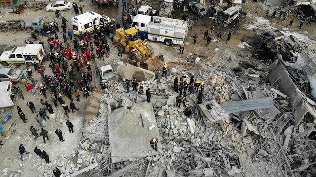 Mutabakatın hiçe sayıldığı İdlib'de 1800 sivil öldü