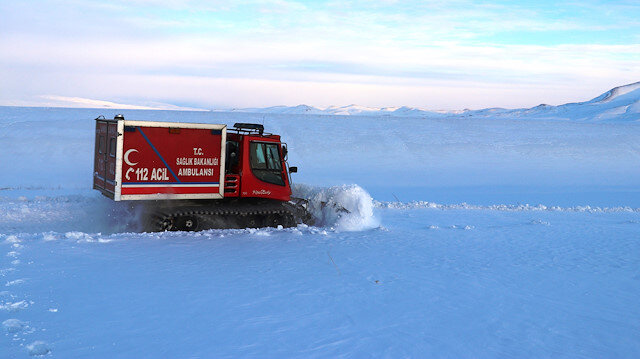 Ağrı'da eğitime kar engeli