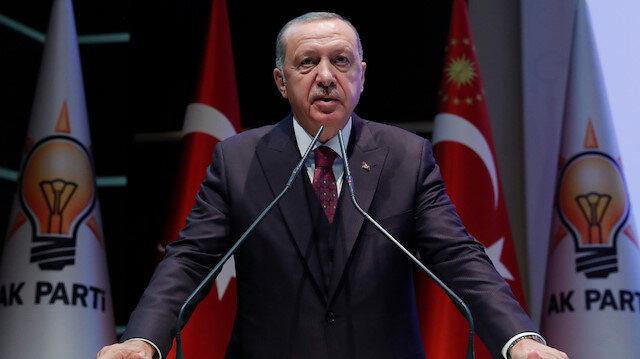 Cumhurbaşkanı Erdoğan: Terör örgütlerinin değirmenlerine su taşıyanları tarih kaydediyor