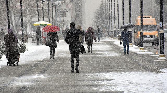 Meteorolojiden kar ve sağanak yağış uyarısı