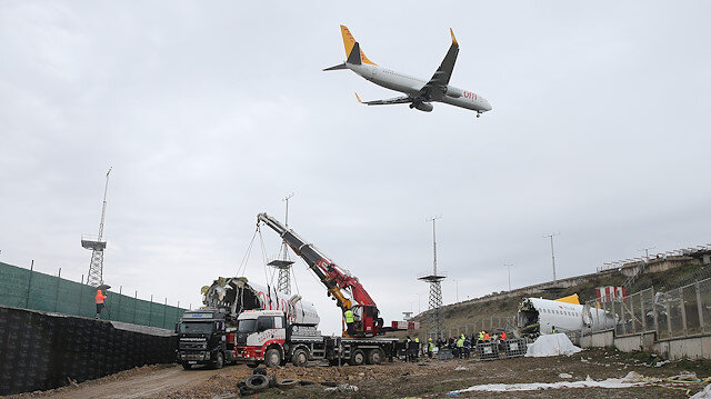 Bakan Turhan'dan uçak kazası açıklaması: Uçağı kontrol etmekte aciz kalmış