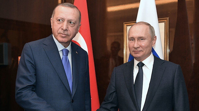 Erdoğan ile Putin İdlib konusunu görüştü