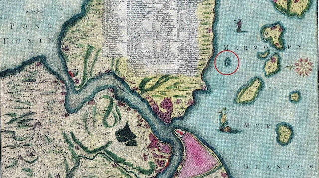 İstanbul'un sular altında kalan gizemli adası: Vordonisi
