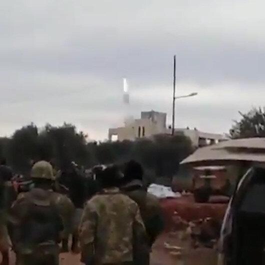 Rejim helikopteri hava savunma füzesi ile vurulmuş
