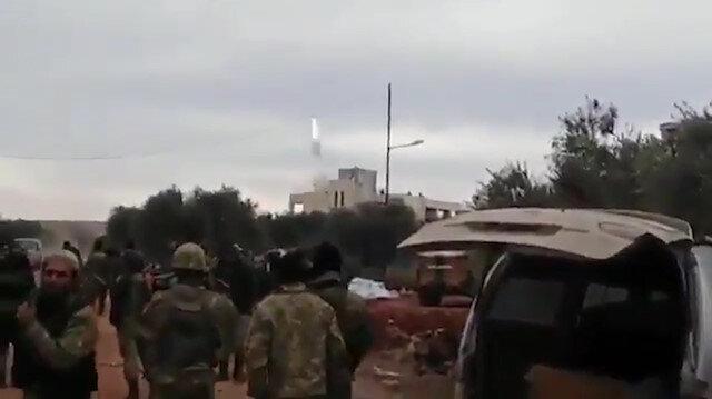 Rejim helikopteri 'hava savunma füzesi' ile vurulmuş