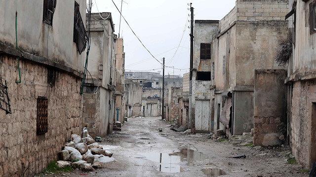 İdlib çevresi, hayalet kente döndü: Tek umutları Türkiye