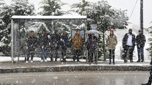 Meteorolojiden 41 ile kar yağışı uyarısı