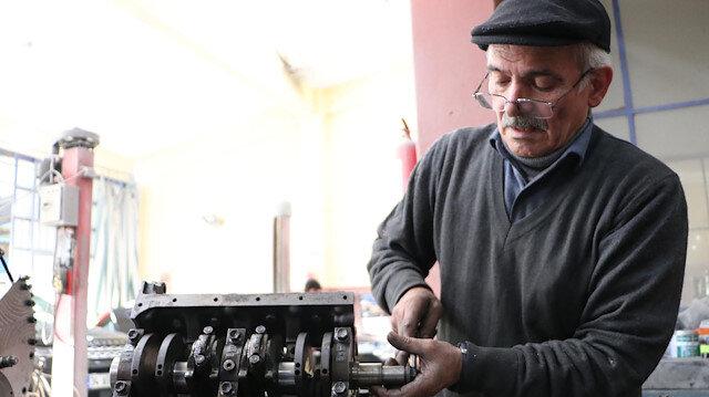 Bakanlık,kare pistonlu araç motoru tasarlayan usta iletemasa geçti