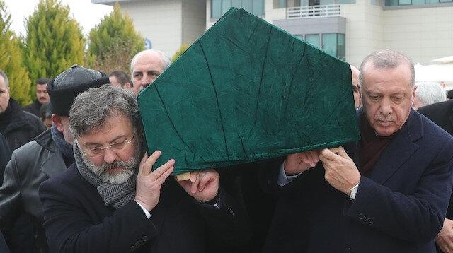 Cumhurbaşkanı Erdoğan, AK Parti Genel Başkan Yardımcısı Usta'nın babasının cenazesine katıldı