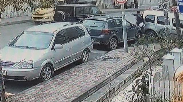 İstanbul'da dehşet anları: Kağıthane'de lüks cipe silahlı saldırı