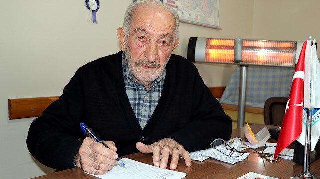 80 yaşındaki 44 yıllık muhtar 10 belediye başkanıyla çalıştı